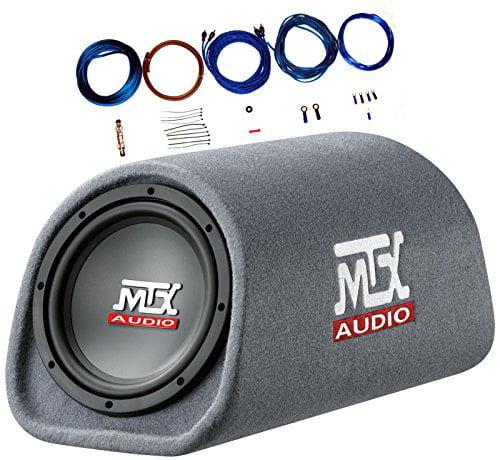 "Mtx Audio RT8PT 8"" 240 Watt Amplified Loaded Subwoofer Tu..."