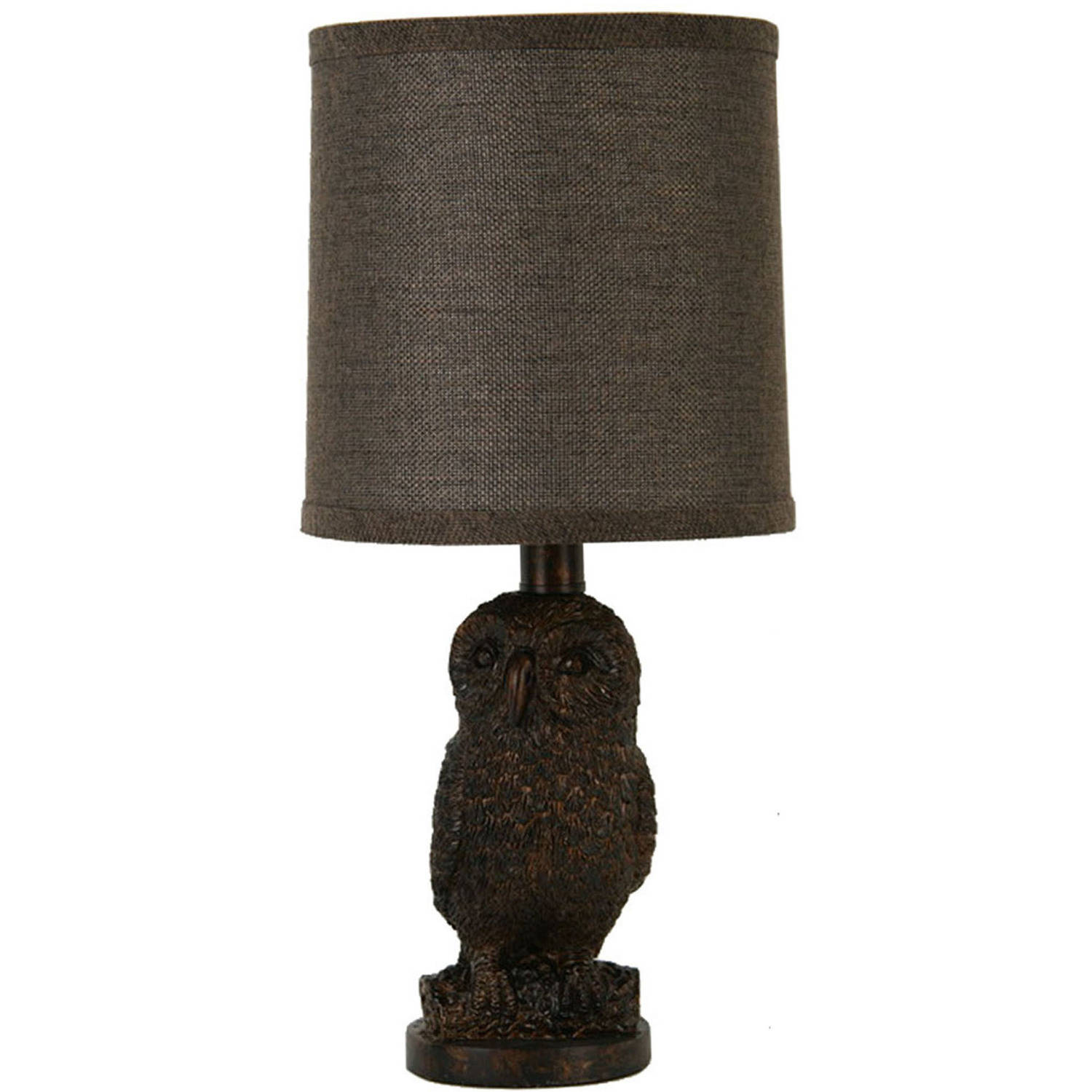 Better Homes and Gardens Owl Table Lamp with Shade by JIMCO LAMP CO.