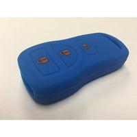 Nissan 3NIFOBCOVERBLUE Blue 3 Button Key Fob Cover Nissan 350Z Armada Maxima Sentra Titan
