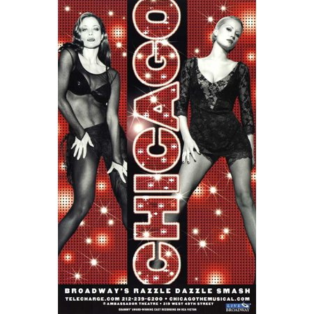 Chicago 11x17 Broadway Poster