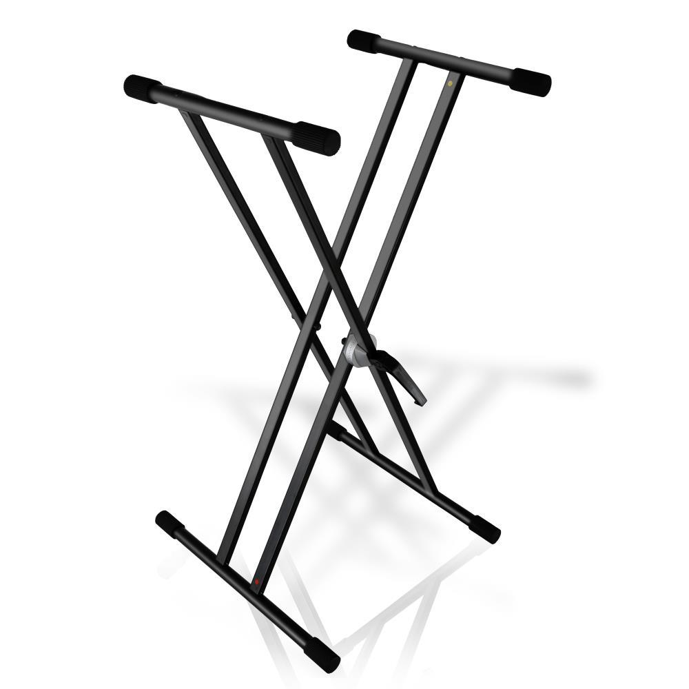 Pyle PKS40 - Universal Keyboard Stand, Electronic Digital Piano DJ Table Mount Holder, Height Adjustable