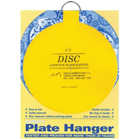 Flatiron Disc Invisible Plate Hanger 5.5