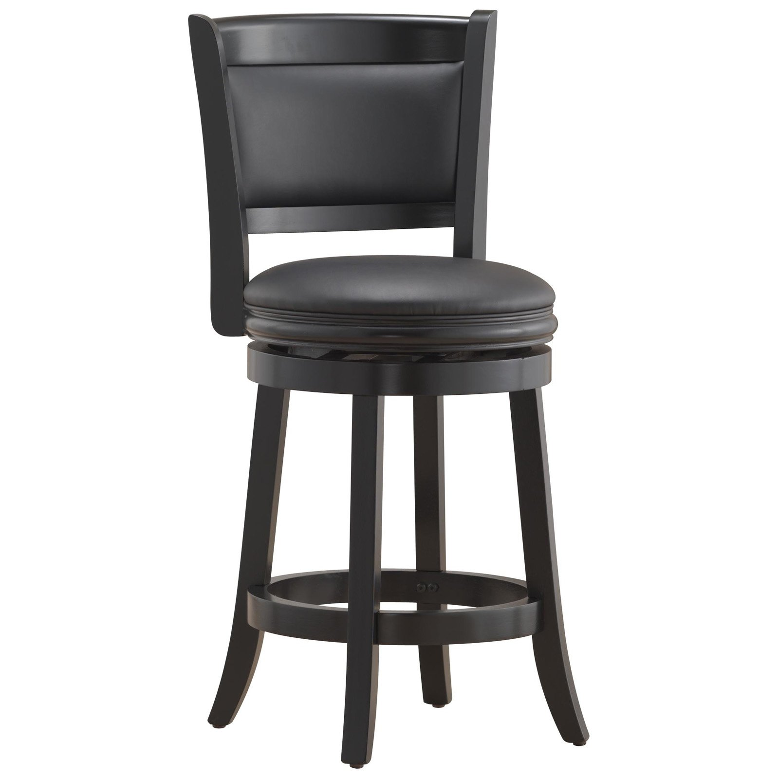 Boraam Augusta 24  Swivel Counter Stool Multiple Finishes - Walmart.com  sc 1 st  Walmart & Boraam Augusta 24
