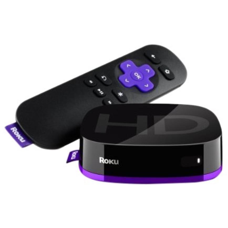 Roku HD (2nd Generation) Media Streamer 2500X - Black (Refurbished)