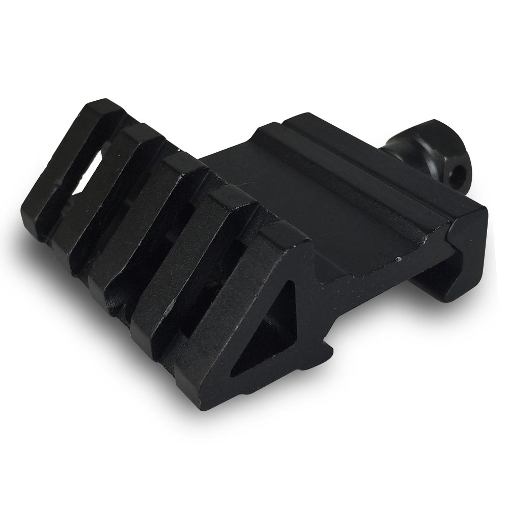 45 Degree Offset Mount Adapter for Picatinny and Weaver Rails