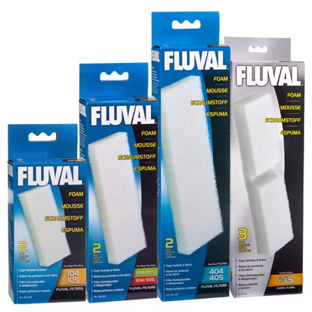 Fluval Filter Foam Block (Fluval Filter Foam Block for 104/105 (2)
