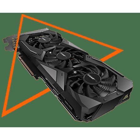 GIGABYTE GeForce RTX 2070 Gaming OC 8G GGDR6 DisplayPort 1 4 HDMI 2 0b USB  Type-C with Triple Fan Design- GV-N2070GAMING OC-8GC - plus free