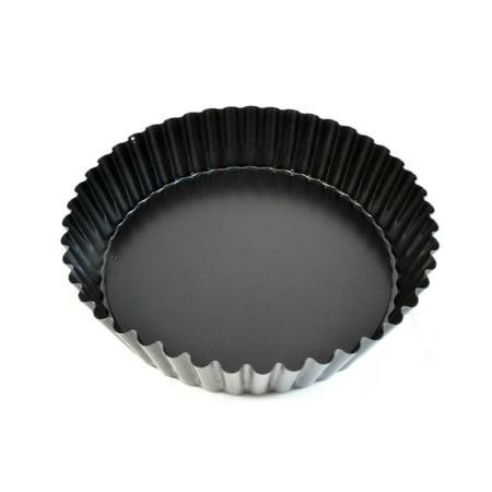 Paderno World Cuisine Deep Tart Pan w/Removable Base, Non-Stick, DIA 9 1/2