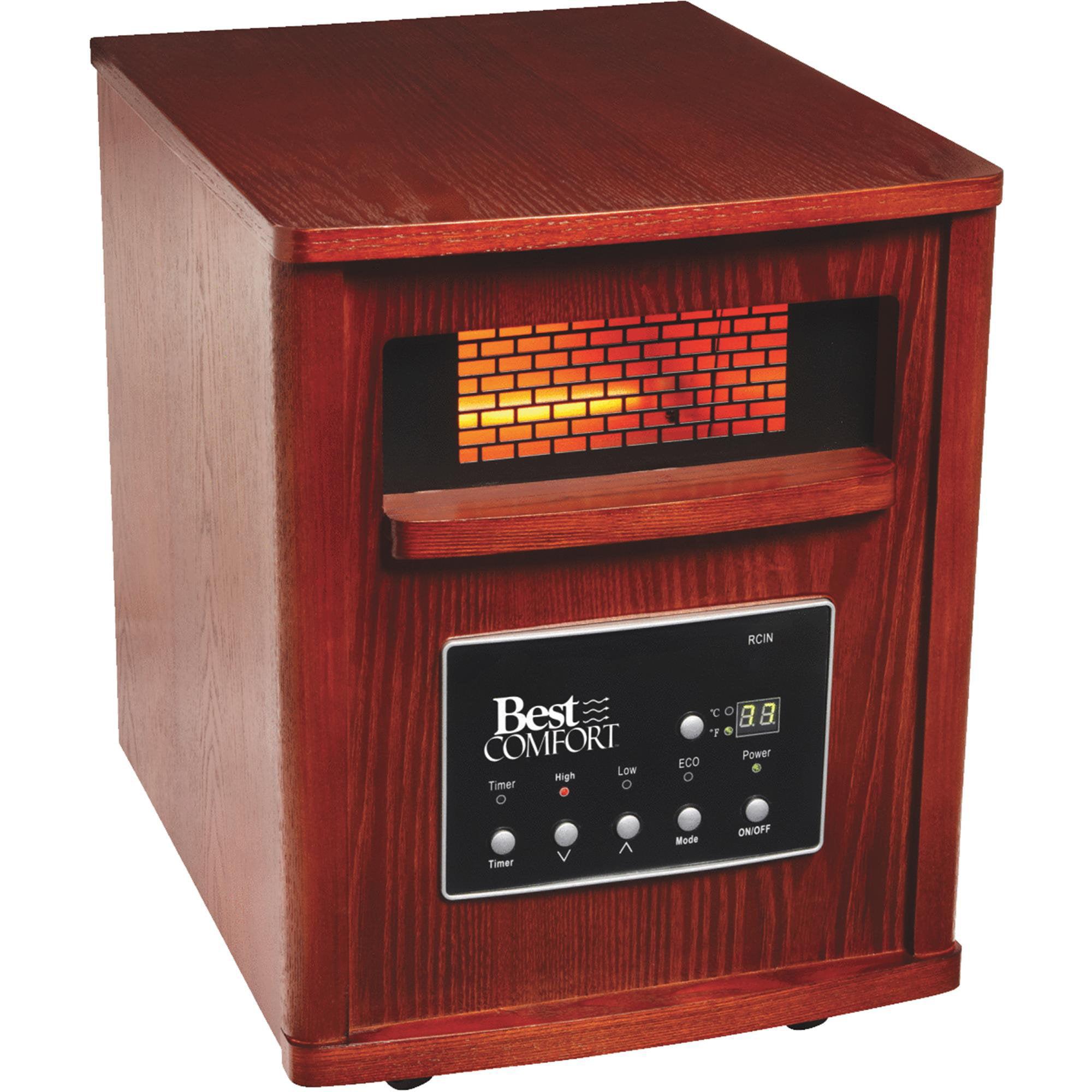 Do It Best Best Comfort Quartz Heater with Woodgrain Cabinet