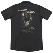 Mgm Army Of Darkness Want Some (Back Print) Mens Work Shirt
