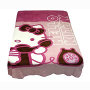 Franco Manufacturing 12440481 Hello Kitty Twin Blanket Ring Ring Telephone Bedding Cover