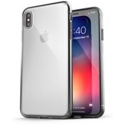 iPhone XS Max Clear Case Slim, Ultra Thin Transparent Grip Phone Cover - Encased