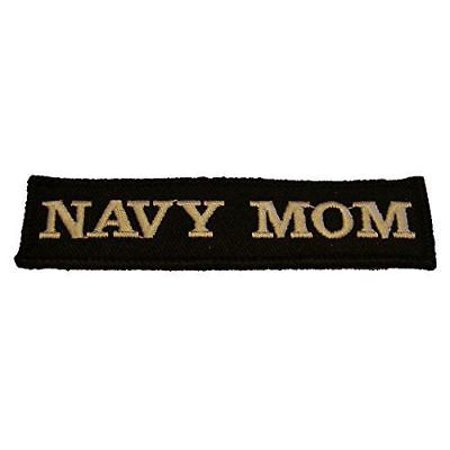- USN NAVY MOM NAME TAPE STYLE PATCH MOTHER SAILOR PARENT STEP PROUD