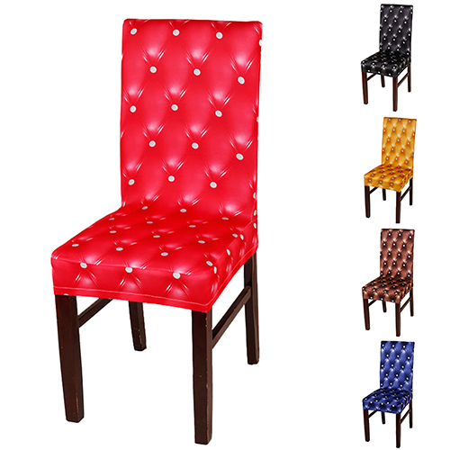 Directer Elasticity Chair Cover Dining Room Wedding Folding Party Banquet Short Slipcover