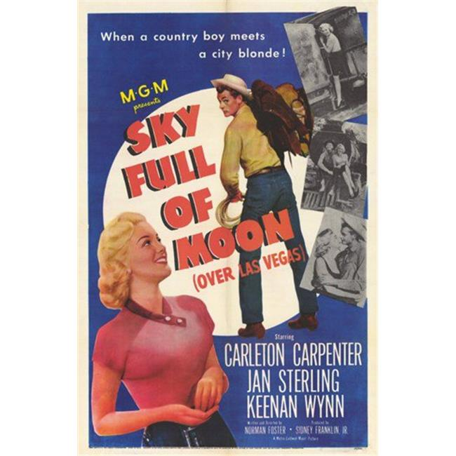 Sky Full of Moon Movie Poster - 11 x 17 in. - image 1 of 1