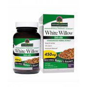 White Willow Bark Standardized (as seen in First Magazine) Nature's Answer 60 VCaps