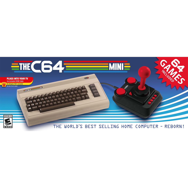 Retro Games LTD, THEC64 Mini Computer, Gray, RGL001