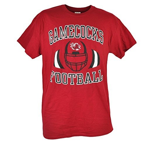 NCAA South Carolina Gamecocks Fullback Short Sleeve Cotton Mens Tee Shirt Large