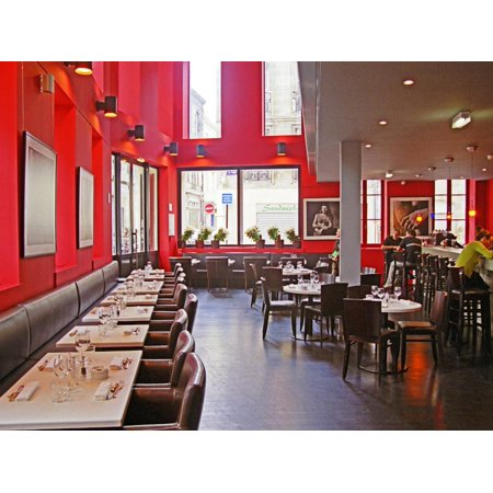 Restaurant Le Cafe Du Theotre, Bordeaux, Gironde, Aquitaine, France Print Wall Art By Per Karlsson