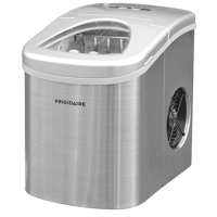 Frigidaire 26 lb. Countertop Ice Maker EFIC117-SS, Stainless Steel
