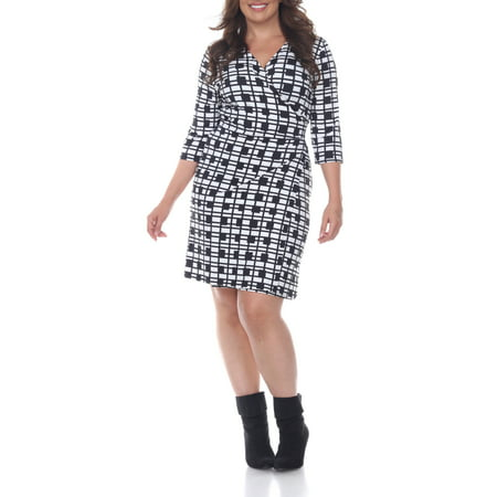 Women\'s Plus Size Plaid Mariah Dress