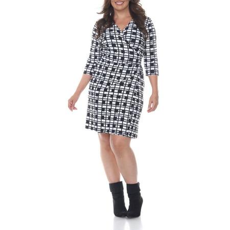 Women\'s Plus Size Plaid Mariah Dress