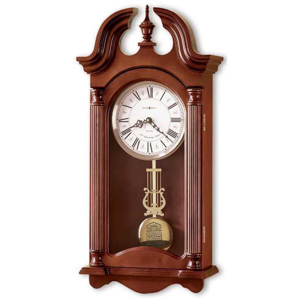 Brown Howard Miller Wall Clock by Howard Miller