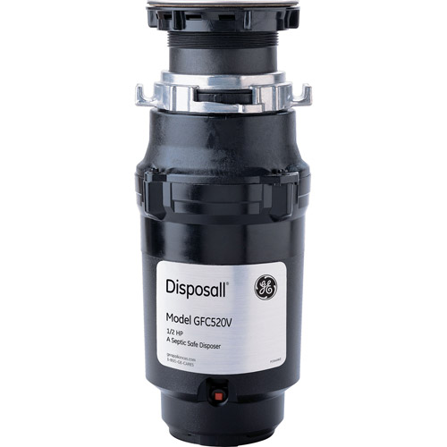 GE Continuous Feed Heavy-Duty 1/2hp Garbage Disposal
