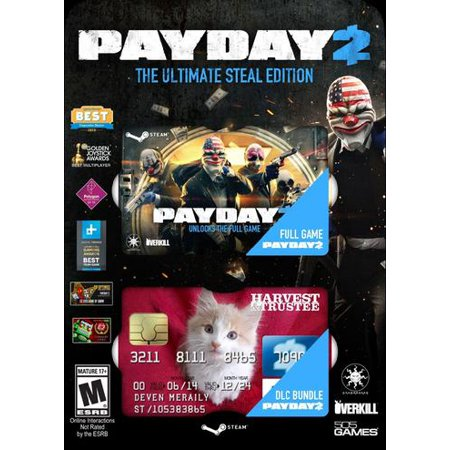 Image of 505 Games 812872018133 71501813 Payday 2: Ultimate Steal Edition - PC
