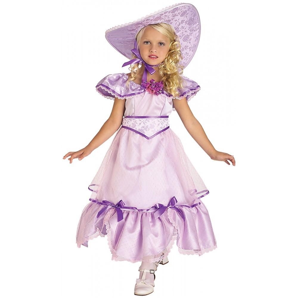 Purple Southern Belle Child Costume   Large   Walmart.com