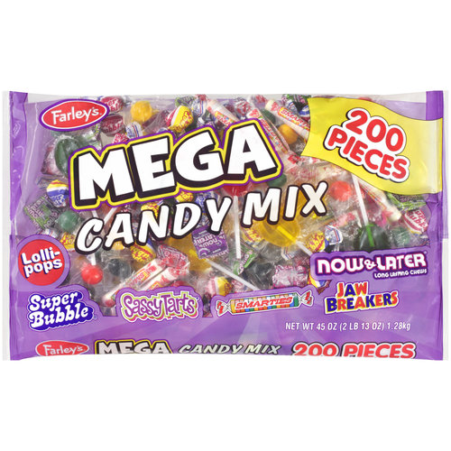 Farley's Mega Mix Candy, 45 oz