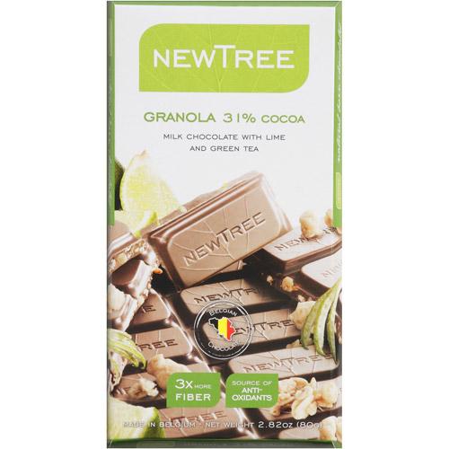 NEWTREE Granola 31% Cocoa Candy, 2.82 oz