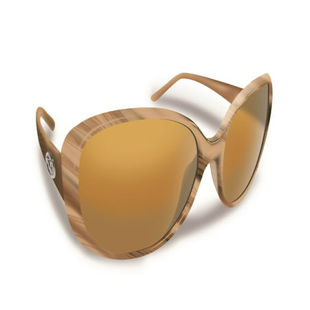 Sanibel Sand Frame with Amber Lens Sunglasses