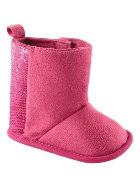 Product Image Newborn Baby Girls Sparkle Boots