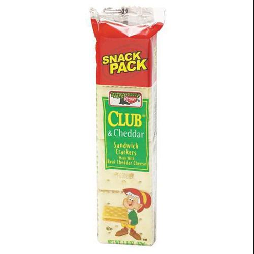 AUSTIN 21163 Sandwich Crackers,Club,1.8 oz.,PK12 G1939519