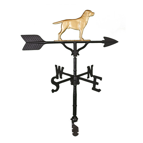 Montague Metal Products Inc. Lab Dog Weathervane by Montague Metal Products Inc.