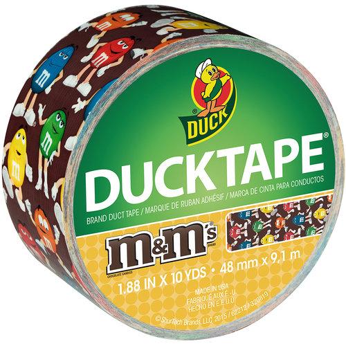 "Licensed Duck Tape, 1.88"" x 10 yd, M&Ms"