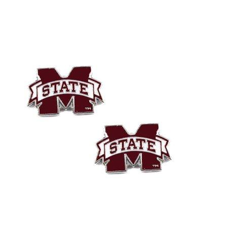 Stud Earring Loop Post (Mississippi State Bulldogs Post Stud Earring NCAA Charm Set )