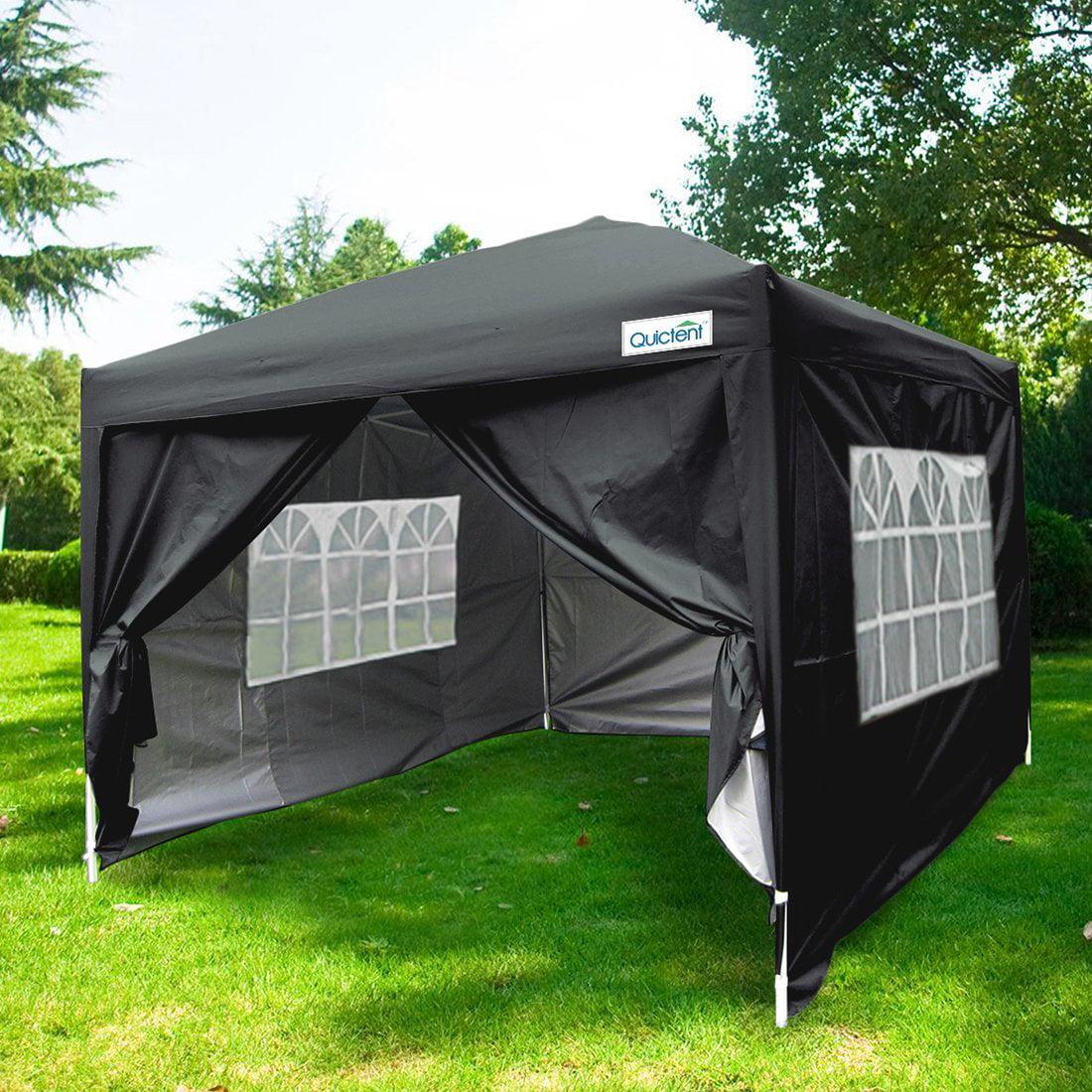 Quictent Silvox Waterproof 8x8' EZ Pop Up Canopy Gazebo Party Tent