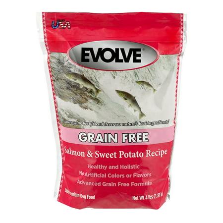 Evolve Grain Free Dog Food Salmon & Sweet Potato Recipe, 4.0 LB