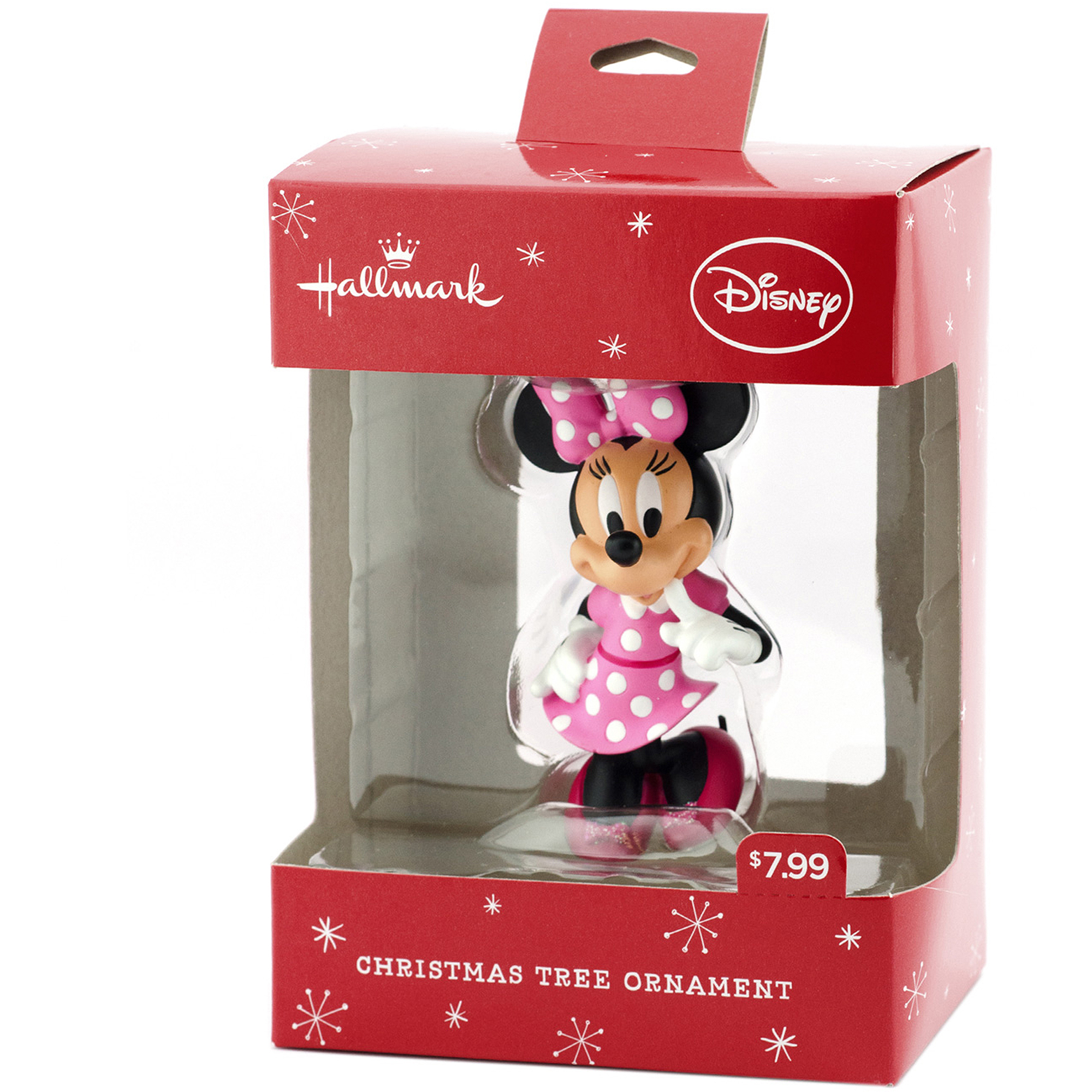 hallmark minnie mouse pink bowtique christmas ornament walmartcom - Minnie Mouse Christmas Ornament