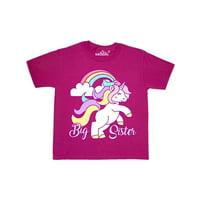 Big Sister Unicorn Youth T-Shirt
