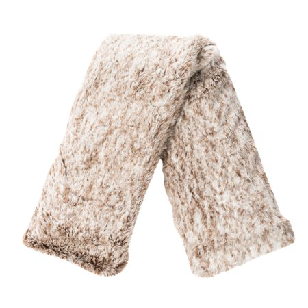 Upper Canada Therawell Faux Fur Relaxing Neck Wrap - White