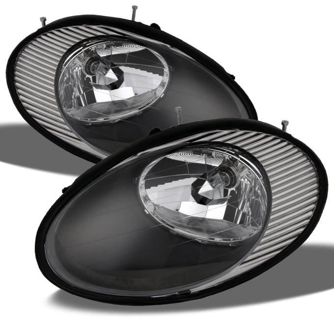 96-98 Ford Taurus Passenger Side Headlight Lamp Assembly