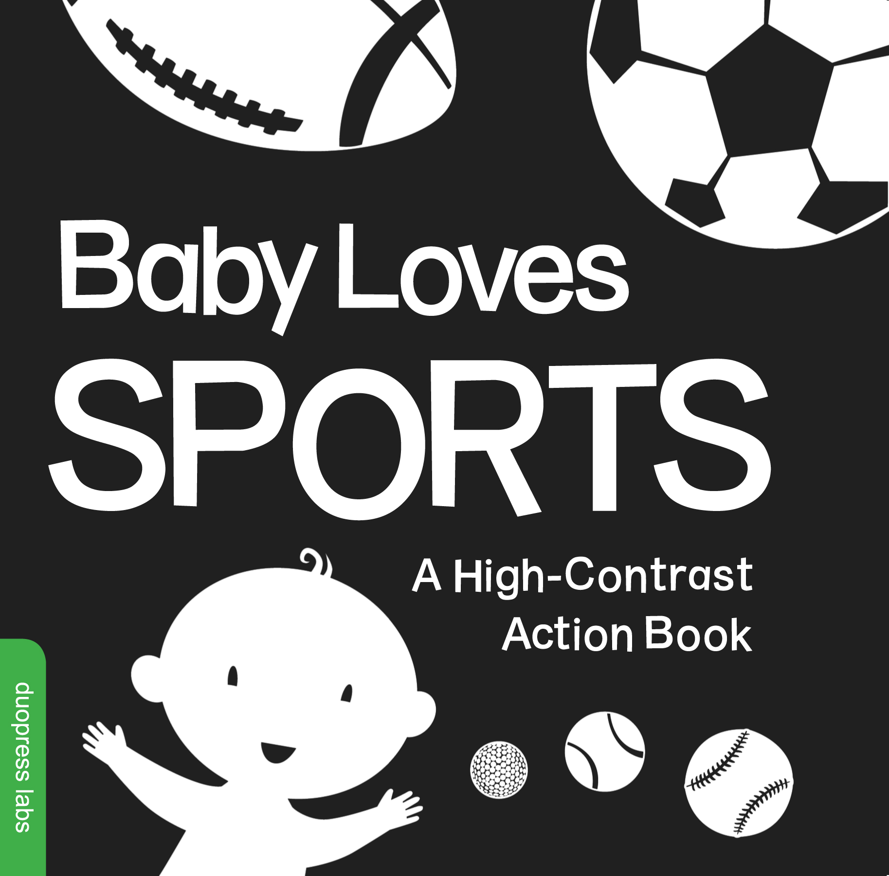 Baby Loves Sports : A High-Contrast Action Book