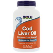Best Barleans Cod Liver Oils - NOW Cod Liver Oil Extra Strength Softgels, 1000 Review