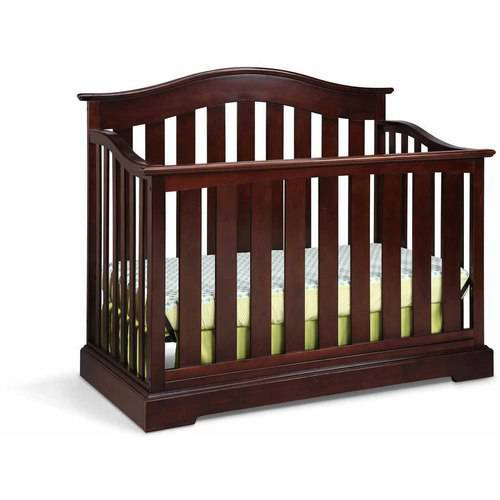 Graco Westbrook 4 in 1 Convertible Crib Gray by Graco