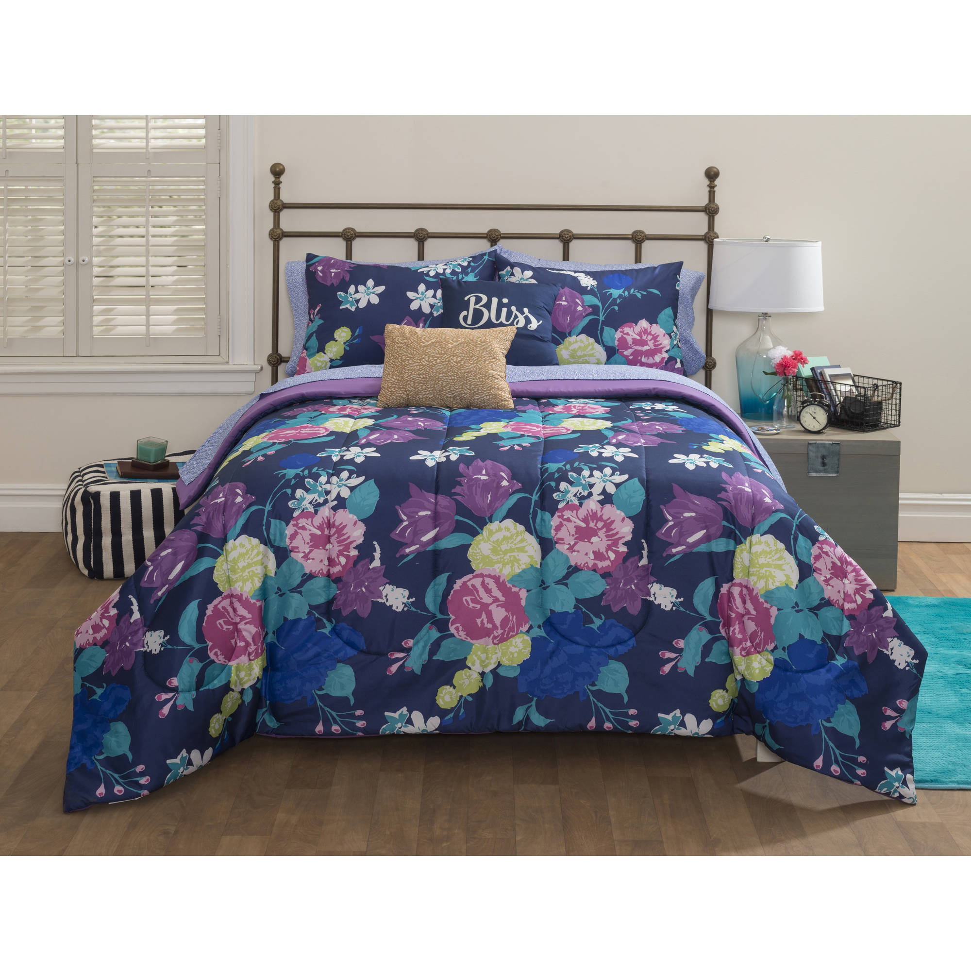 Latitude Secret Garden Bed in a Bag Bedding Set