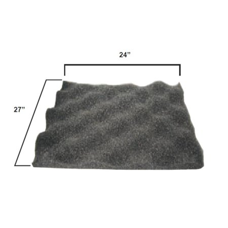 Amcon 7200-78085 Egg Crate Hood Foam - Foam Eggs