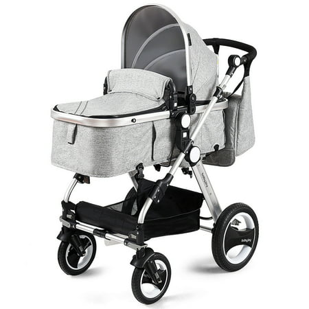 Costway Folding Aluminum Infant Baby Stroller Kids